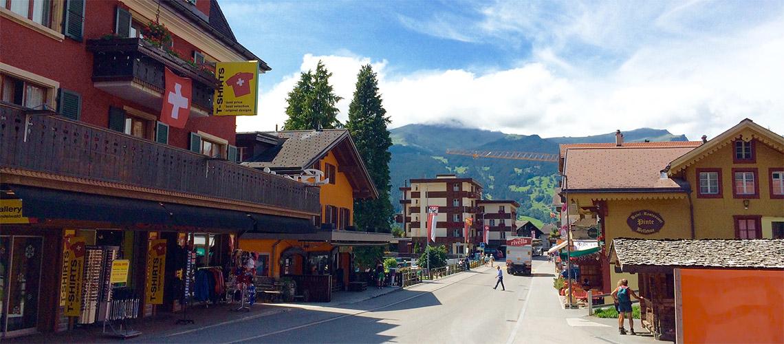 NO MOUNTAINS TOO HIGH 瑞士的山間搖籃