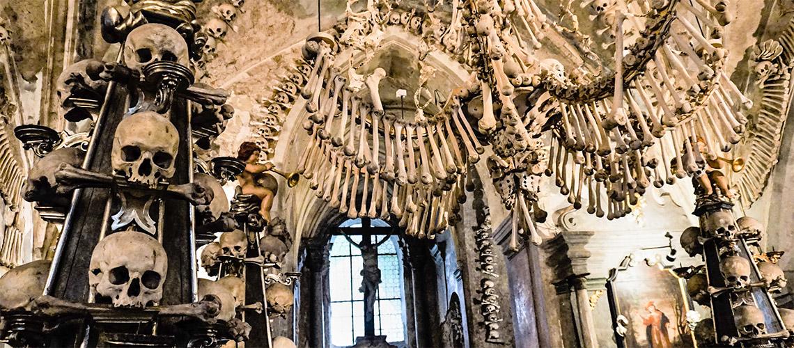在捷克的庫特納霍拉,「人骨教堂」的歷史與文化