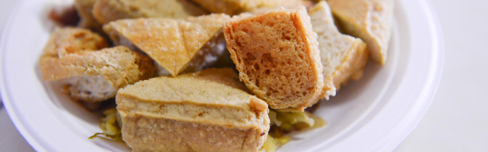 冬山老街小吃 吃透透~許家米粉羹臭豆腐、金珠蔥油餅、郭媽媽蔥油餅、童趣豆花、小風箏雪花冰