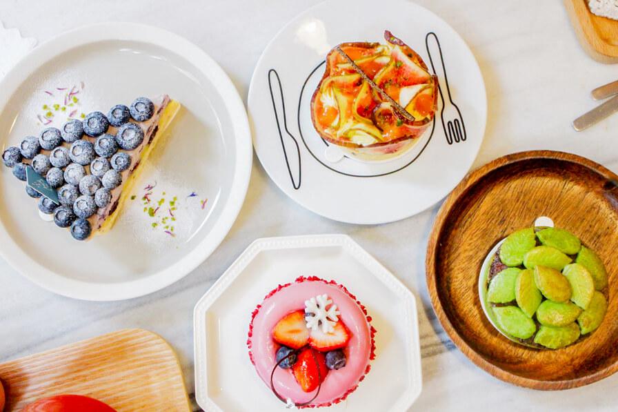 【板橋 ‧ 甜點】PONPIE,最愛藍莓派