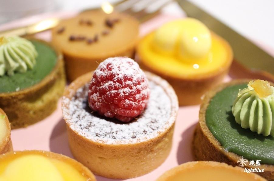 【市府站美食】淺藍 × WannaEat好想吃甜點工作室~可口綜合小塔滿足你的選擇困難