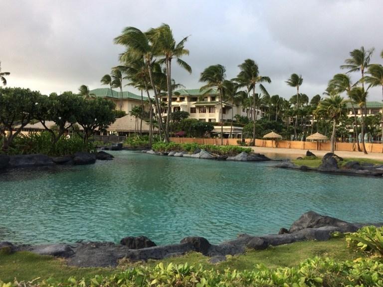 去夏威夷可愛島 Kauai 住君悅度假村,踏浪加登山