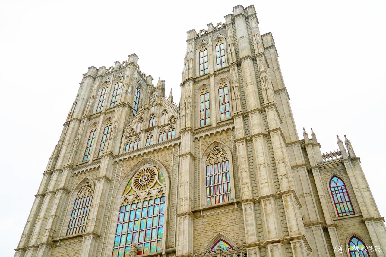 韓國慶熙大學散步去--歐洲風建築、超好拍的哥德式大禮堂