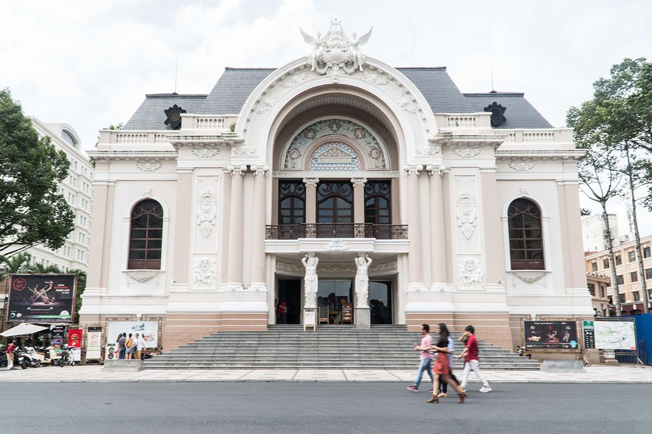 越南胡志明市|不能不看的特色建築,胡志明市的超好拍景點們(下)