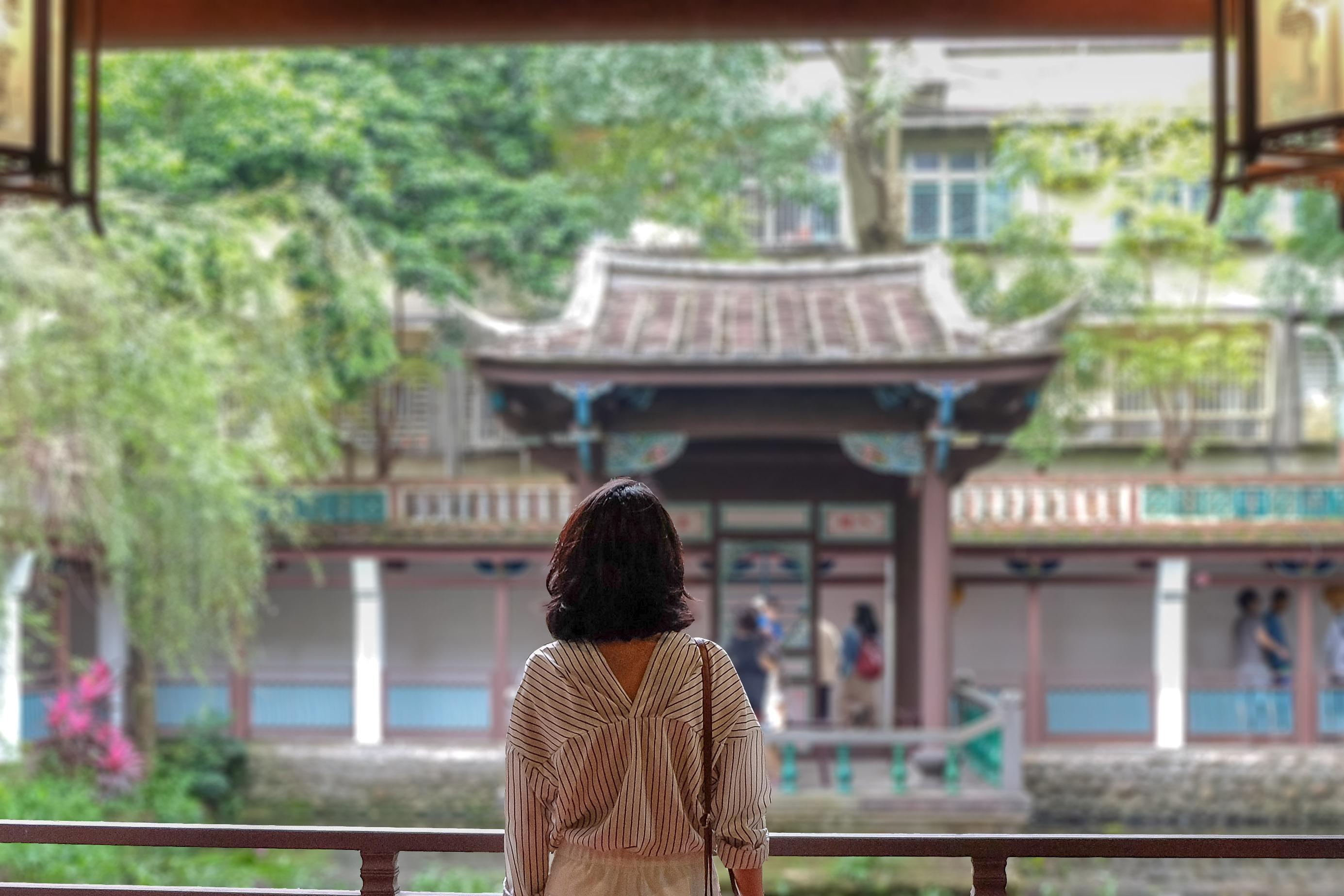 【約會攻略】在板橋的綠意宅院中,來一場約會旅行