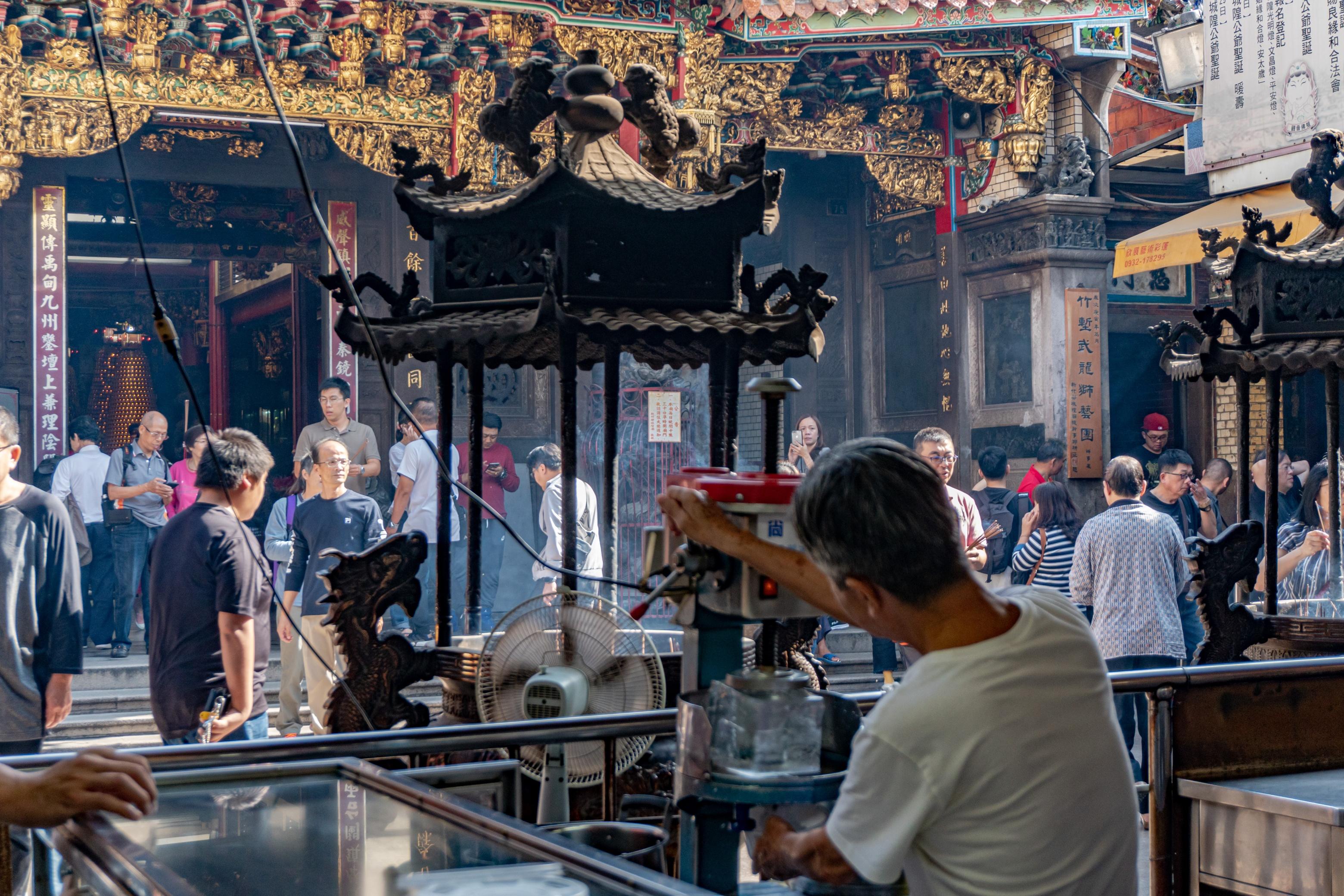 新竹・城隍廟|不談廟口美食小吃,你還知道新竹城隍廟多少?