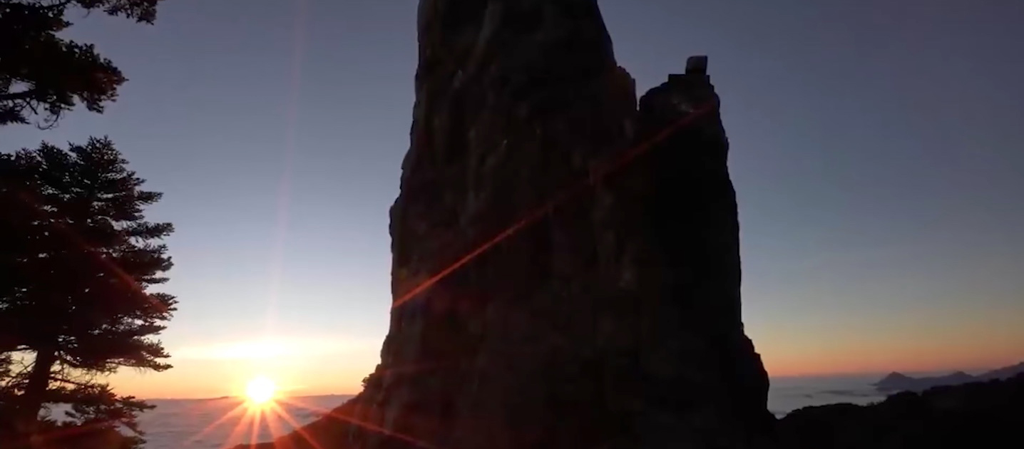 台灣最美山徑南湖大山,尋找巨人般壯觀石柱(影片)