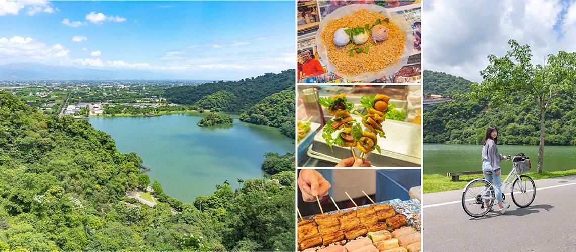 宜蘭・一日遊景點推薦 冬山河生態綠舟、梅花湖、羅東夜市,吃喝玩樂一把罩