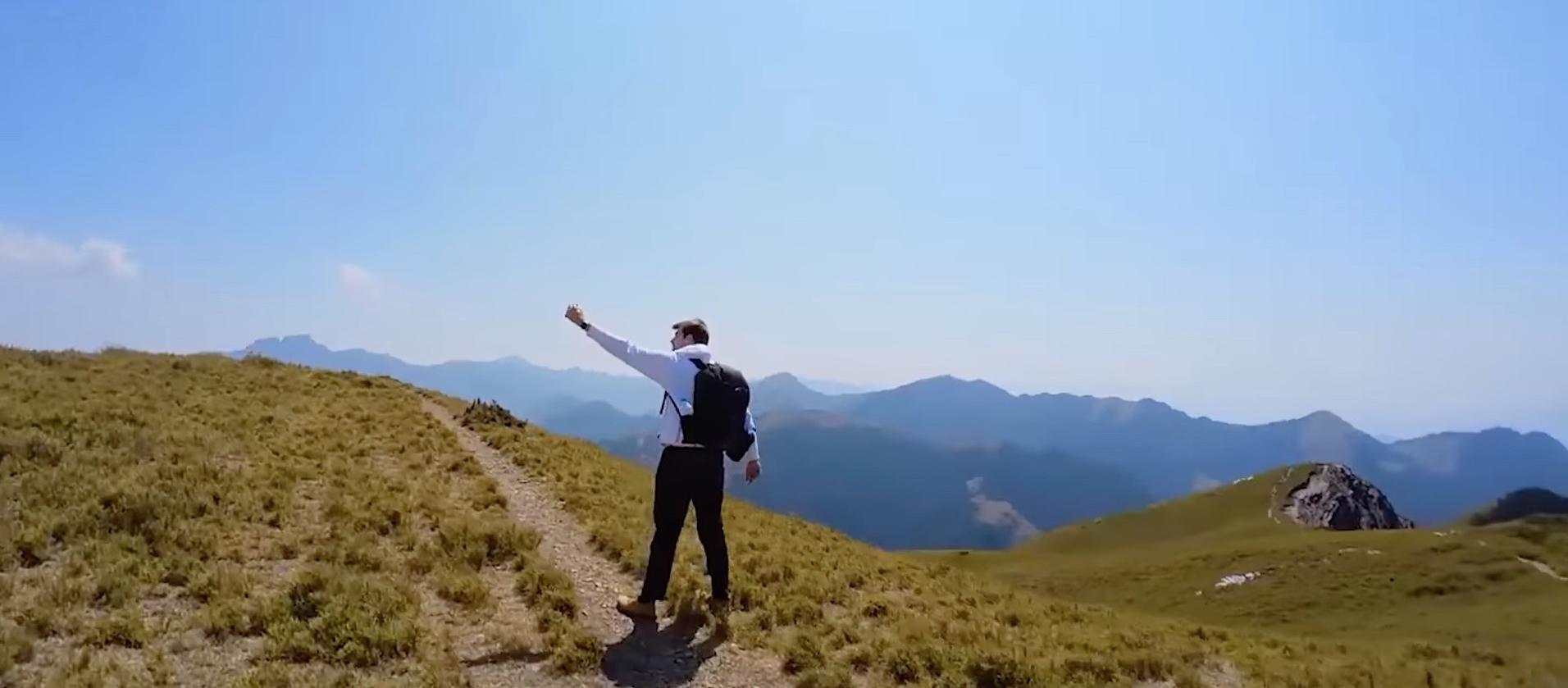合歡北峰全紀錄!外國人攻百岳初體驗(影片)