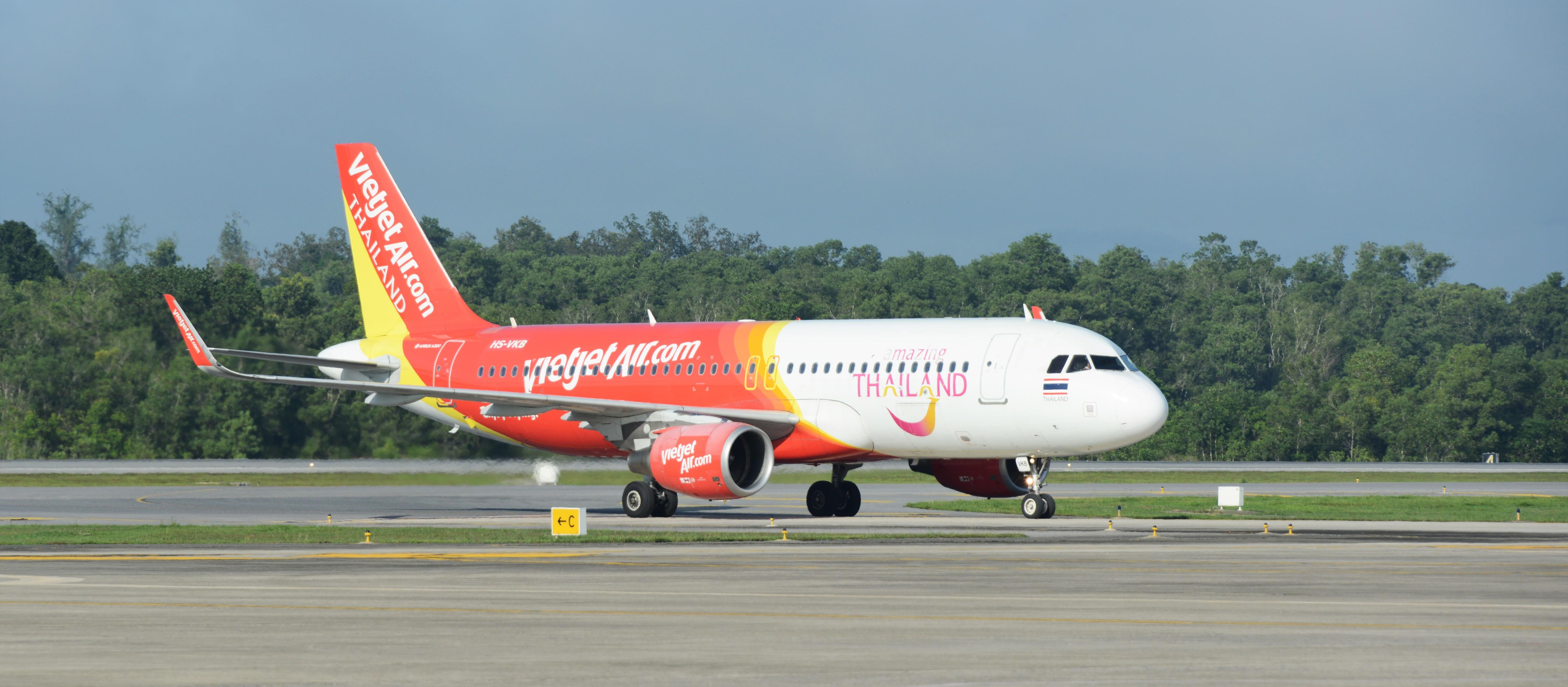 泰越捷航空將開通台北與曼谷航線 ,同時提供普吉島沙盒計畫班機